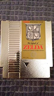 THE LEGEND OF ZELA VIDEO GAME THE LEGEND OF ZELA EXPERIENCE THE CHALLENGE OF ENDLESS AVENTURE (NES NITENDO 8-BIT VIEO GAME Cartridge)