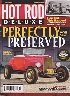 Hot Rod Deluxe Magazine November 2018