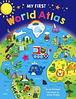 My First World Atlas - Padded Board Book - Educational