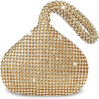 BABEYOND 1920s Flapper Handbag Clutch Gatsby Crystal Handbag Roaring 20s Evening Clutch Bag 1920s Gatsby Costume Accessories