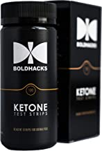 Ketone Test Strips for Keto Diet   Accurate, High Quality   100 Medical Grade Strips   Best for Testing Urine Ketone Level...