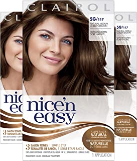 Clairol Nice'N Easy Original 5G Natural Medium Golden Brown (Pack of 3)