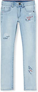 IKKS Junior Jean Denim Faded Blue Jeans para Niños