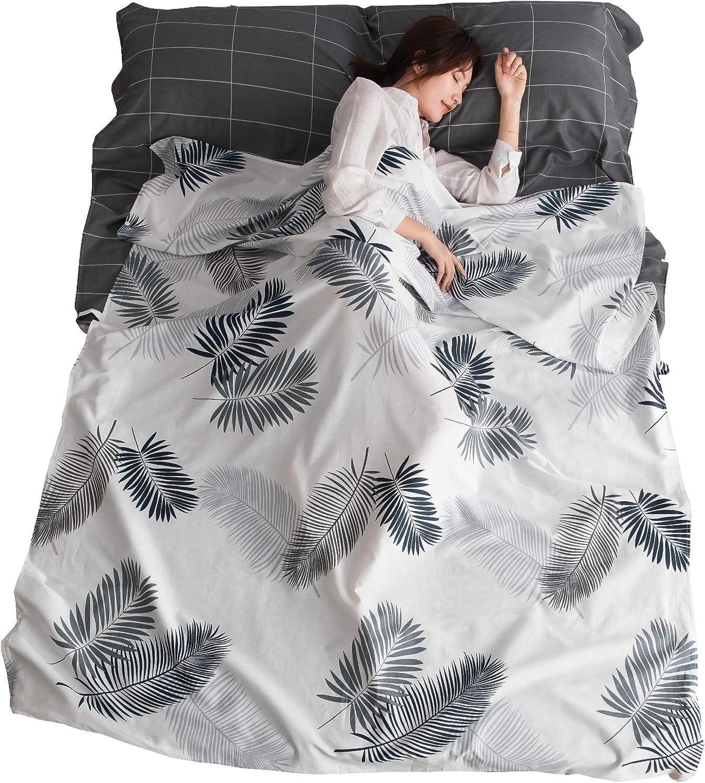 TRIWONDER Sleeping Bag Boston Max 78% OFF Mall Liner Cotton S Sleep Camping Sheet Travel