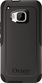 OtterBox Commuter Case for HTC One M9 – Retail Packaging – Black (Black/Black)