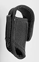 Holster, nylon w/metal belt clip - (fits 3 oz pepper spray, Fox Labs 5.3, Sabre, Freeze +P, Wildfire) -Holster only, pepper spray not included.-