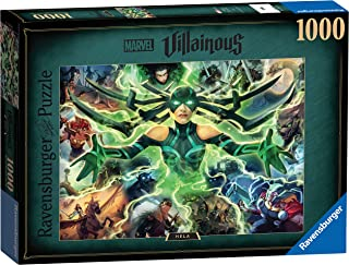 Ravensburger Marvel Villainous Hela 1000 Piece Jigsaw Puzzles for Adults & Kids Age 12 Years Up
