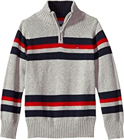 Tommy Hilfiger Kids - Leon 1/2 Zip Sweater (Toddler)