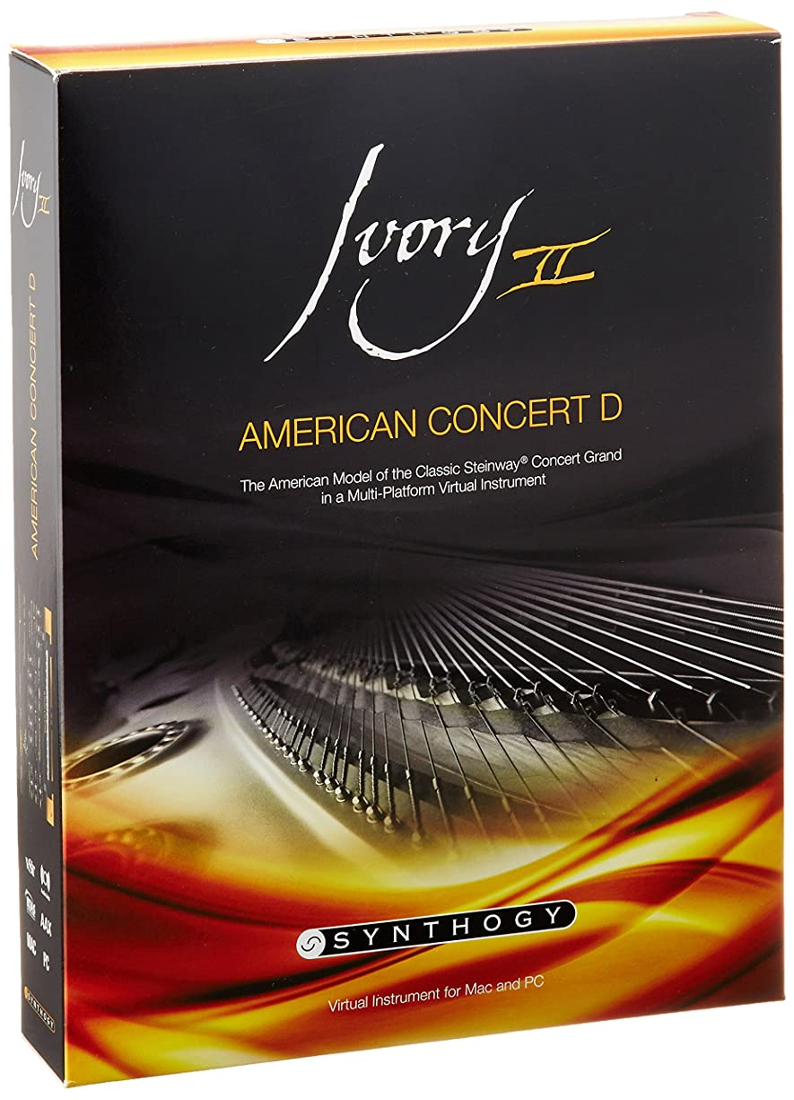 圧力感覚ディスカウント【正規輸入品】 Synthogy Ivory II American Concert D ピアノ音源 1951年ニューヨークスタインウェイD
