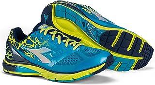 Zapatillas running Mythos BlueShield C6052 (color azul marino clásico/azul fluorescente), para hombre