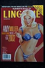 PLAYBOY'S LINGERIE 2002 07 JULY/AUG AMY MILLER LANI TODD HOLLY LAAR JILL SCOTT NUDE