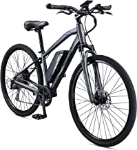 Schwinn Sycamore 350 Watt hub-Drive, Mountain/Hybrid, Electric Bicycle, 8 speeds, Mens Size