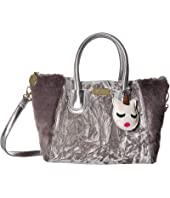 Luv Betsey - Gidget Velvet Body w/ Plush Side Panels Satchel