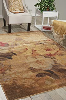 Nourison Somerset Multicolor Rectangle Area Rug, 2-Feet by 2-Feet 9-Inches (2' x 2'9