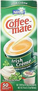 Coffee-Mate Irish Creme Liquid Creamer 50 Single Serve 3/8 FL OZ