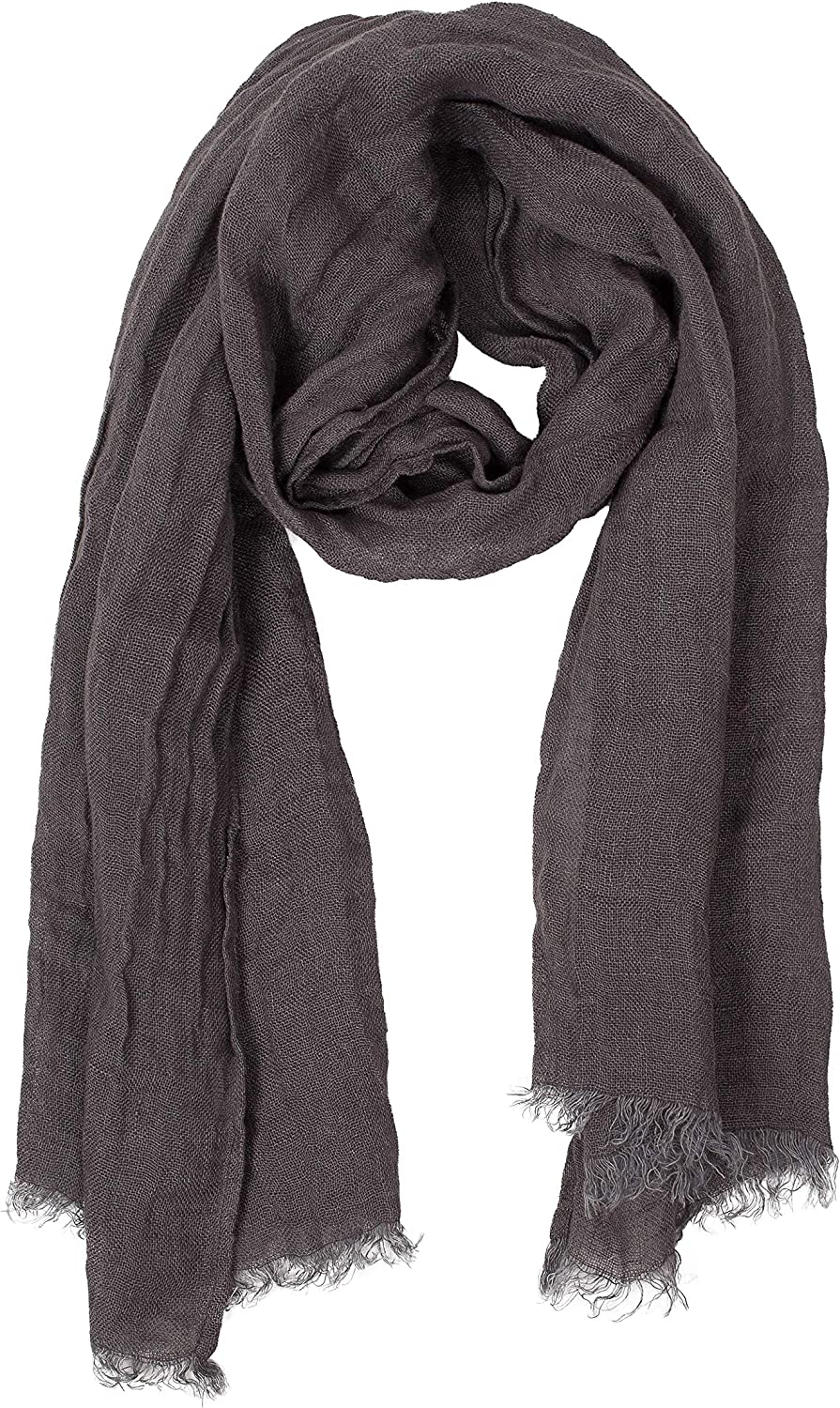 Lusie's Linen Scarf - 100% Linen - Imported from Europe