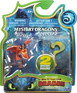 Dragons Dreamworks Mystery Dragons 2-Pack, Collectible Dragon Figures, for Kids Aged 4 and Up (Styles Vary)