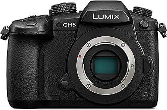 Panasonic LUMIX Systemkamera DC-GH5EG-K, 20 MP, Dual I.S., 4K 60p Video, 4K/6K Foto, DSLM Wechselobjektivkamera, MFT, schwarz