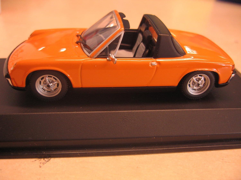 Minichamps Porsche 914 1969-73 1 43 B008513V7K Einzigartig   | Neuheit