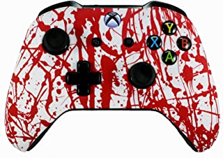 Xbox One Soft Touch Design Custom Gaming Controller -Soft Shell for Comfort Grip X for Microsoft Xbox 1 (Blood)