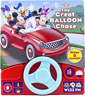 Mickey Mouse Clubhouse - Little Steering Wheel -The Great Balloon Chase - Play-a-Sound - PI Kids