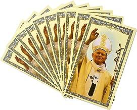 Saint John Paul II Pope Holy Card (10 pack)