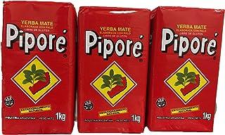 Yerba Mate Pipore Regular Four 2.2 Bags pack of 4 (4 Kilos 8.8 Lbs)
