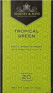 Harney & Sons Tropical Green Tea, 20 Tea Bags