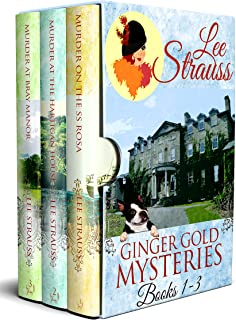 A Ginger Gold Mysteries Bundle: 1920s Cozy Historical Mysteries Books 1-3