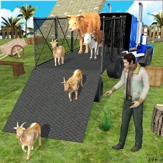 Animal Transport Truck Parking: Farm Animal Games