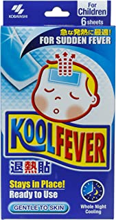 Koolfever for Children, 6 Count