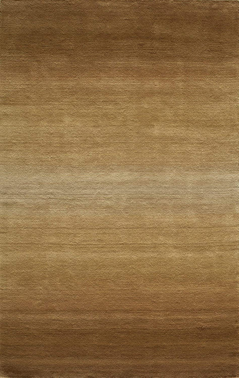 Momeni Rugs METROMT-12LBN2339 Metro Collection, 100% Wool Hand Loomed Contemporary Area Rug, 2'3  x 3'9 , Light Brown