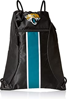 Jacksonville Jaguars Big Stripe Zipper Drawstring Backpack
