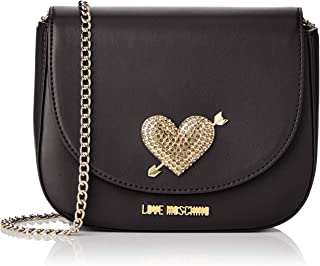 LOVE Moschino Womens Evening Bag with Heart Hardware