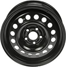 Dorman 939-176 Black Wheel with Painted Finish (15 x 6. inches /5 x 100 mm, 47 mm Offset)