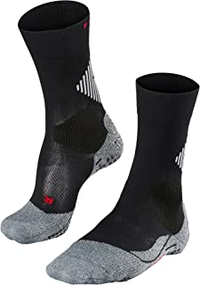 FALKE Unisex 4 GRIP Stabilizing Socks Breathable Quick Dry Black White Blue Red Sports Sock Special Sole With Improved Gri...
