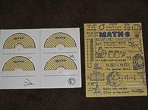 Math 6 Teaching Textbooks CD-ROM SET (Cd rom) 4 Cds Plus Answer Booklet