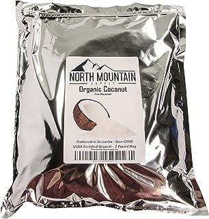 North Mountain Supply Coco de macarrón fino orgánico - Bolsa de 2 libras - Producido en Sri Lanka