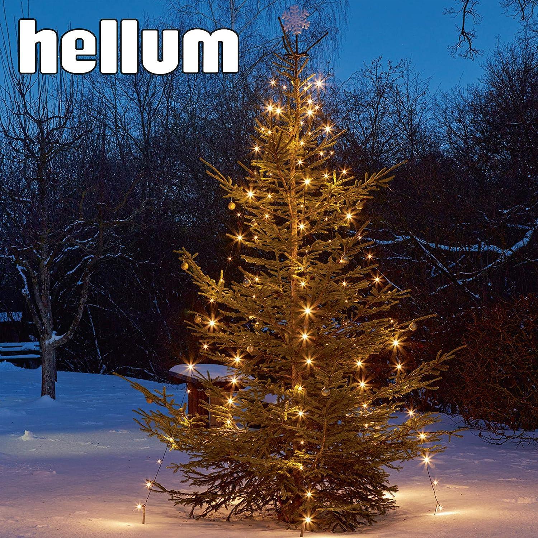 Hellum Weihnachtsbaumbeleuchtung Baum Lichterkette 824674
