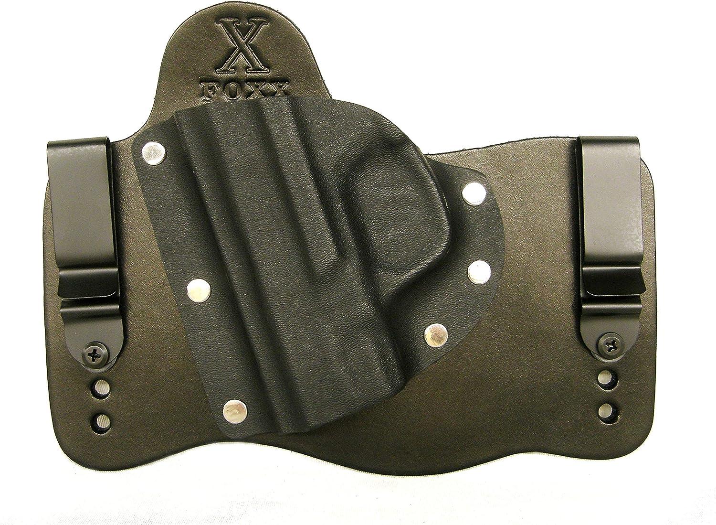 FoxX Holsters Pick Your 直営ストア Firearm IWB Black Hybrid 通販 激安◆ Holster Leathe