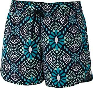 Columbia Sportswear Women's Cool Coast Shorts, Collegiate Navy Medallion Print, Medium