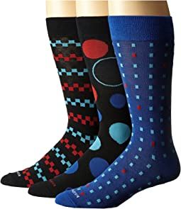Steve Madden - 3-Pack Fashion Crew Socks