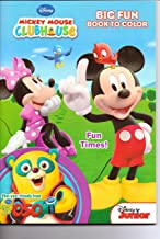 Mickey Mouse Clubhouse Big Fun Book to Color ~ Fun Times