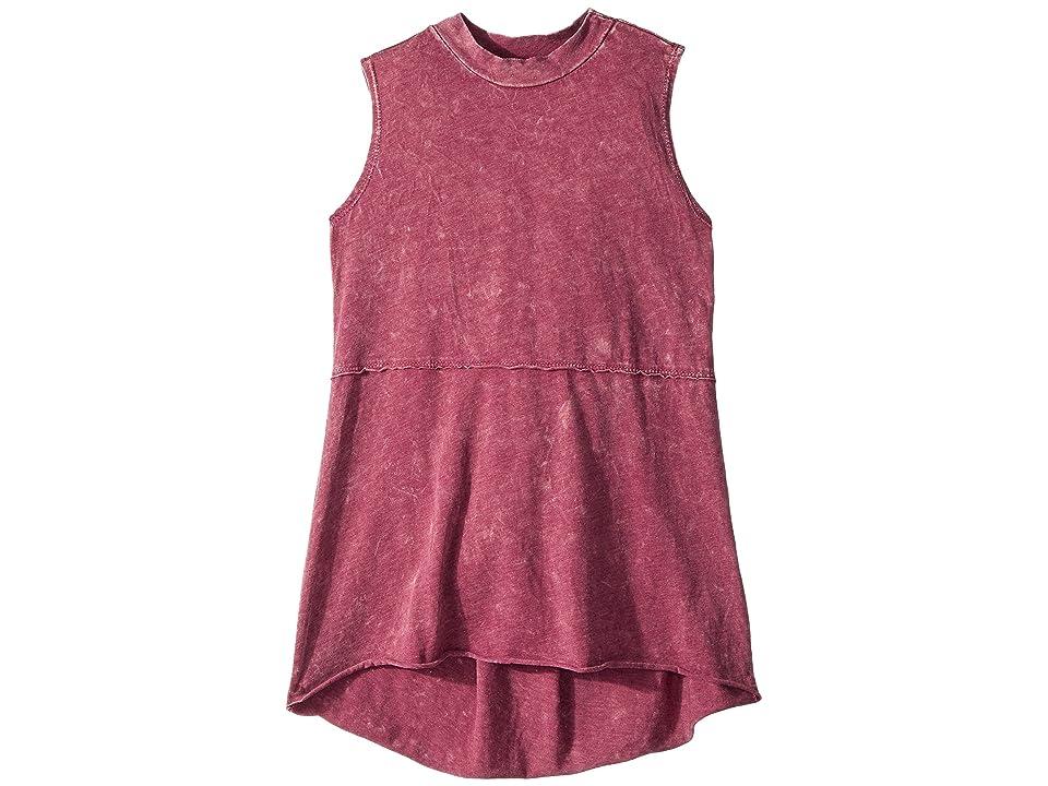 People's Project LA Kids Kaley Tank Top (Big Kids) (Fuchsia) Girl's T Shirt