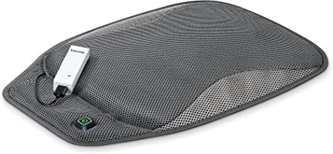 Beurer Portable Wireless Heated Seat Cushion with Convenient Storage Bag, Rechargeable, Durable for Indoor & Outdoor Use, ...