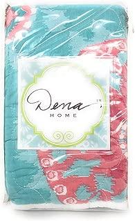 Nostalgia Sloane Aqua/Pink KING Sham ~ 100% Cotton