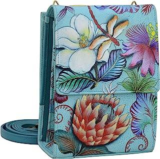 Women's Genuine Leather Mini Sling Organizer Bag | Cross Body/ Clutch/ Shoulder Bag | Chic & Stylish Organizer