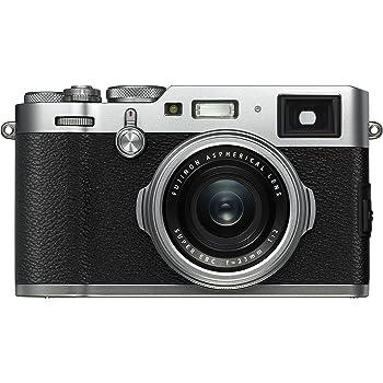 Fujifilm X100F Fotocamera Digitale da 24Mp, Sensore APS-C X-Trans CMOS III, Obiettivo 23mm f/2, Mirino Ibrido, Telemetro Elettronico, Otturatore Centrale, Nero/Argento