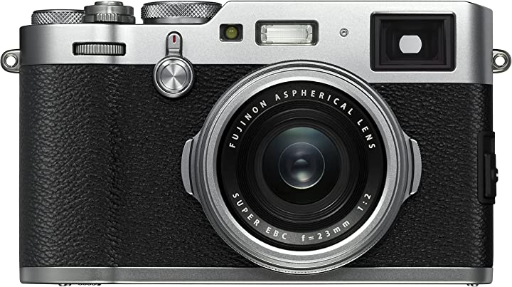 Fotocamera digitale da 24mp sensore aps-c x-trans cmos iii obiettivo 23mm f/2 mirino ibrido fujifilm x100f B01N36317N