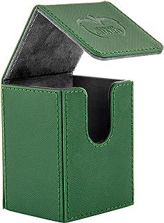 Ultimate Guard Flip Deck Case 80+ XenoSkin Standard Size Green Card Game